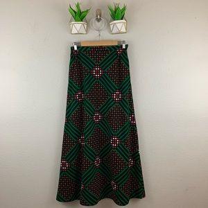 Vintage  AGILE FLORENCE WALSH COLORFUL Maxi Skirt